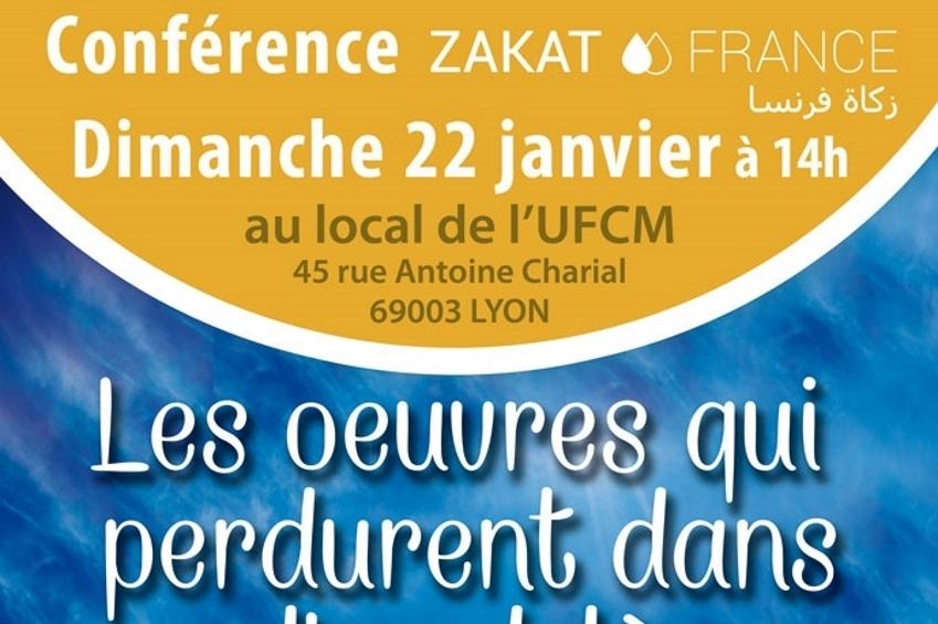 Zakat France : Conférence